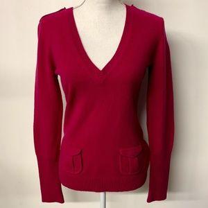 Diane Von Furstenberg Pink Cashmere Wool Sweater